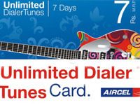 Aircel Unlimited Dialer tunes